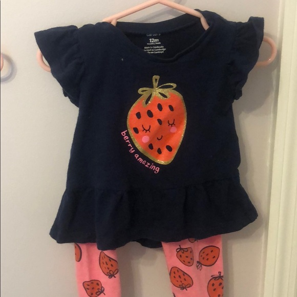 Carter's Other - Berry Amazing two piece outfit 🌟Bundle and Save🌟